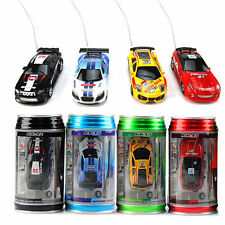 US 1/63 Coke Can Mini RC Car Radio Control Speed Racing Vehicle Toys Kids Gift