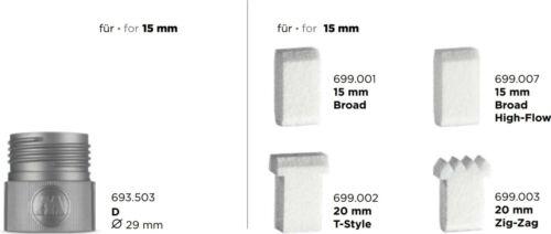 Molotow 411EM-Vide Pompe Marker Pen 15 mm Neuf dans sa boîte
