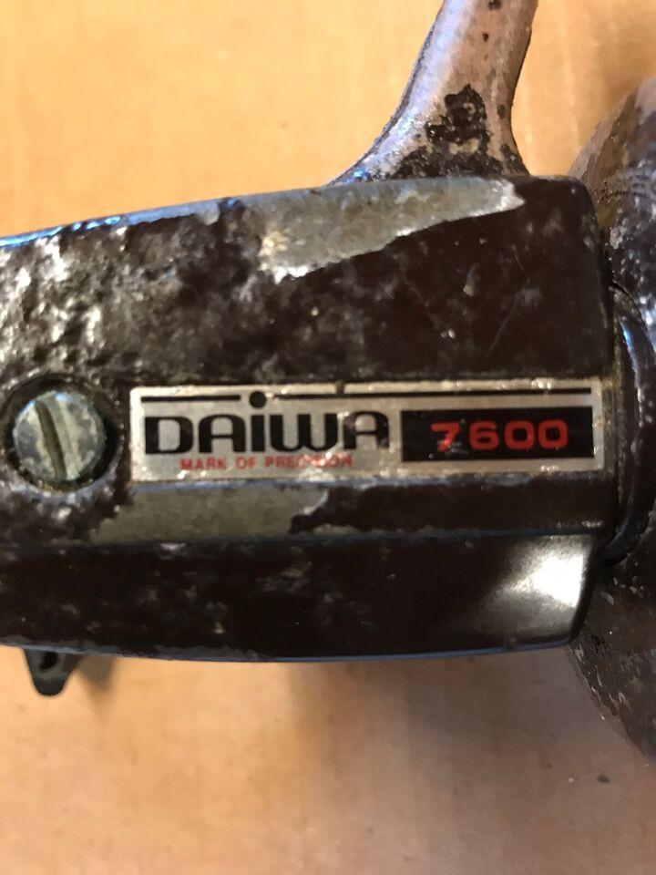 Fastspolehjul, DAIWA 7600