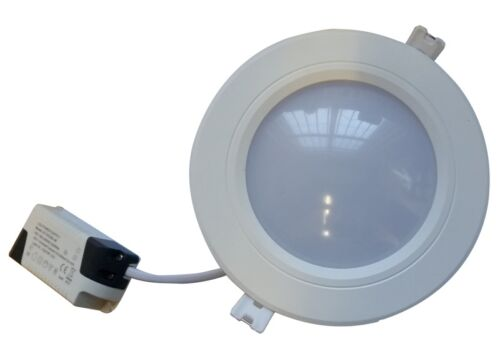 Meteor Round LED Spot 9w Downlight Ceiling Recessed Light 6000k Daylight Lamp
