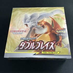 Pokemon-Kartenspiel-Sun-amp-Moon-Erweiterungspaket-sm10-Double-Blaze-Booster-Box-Japan