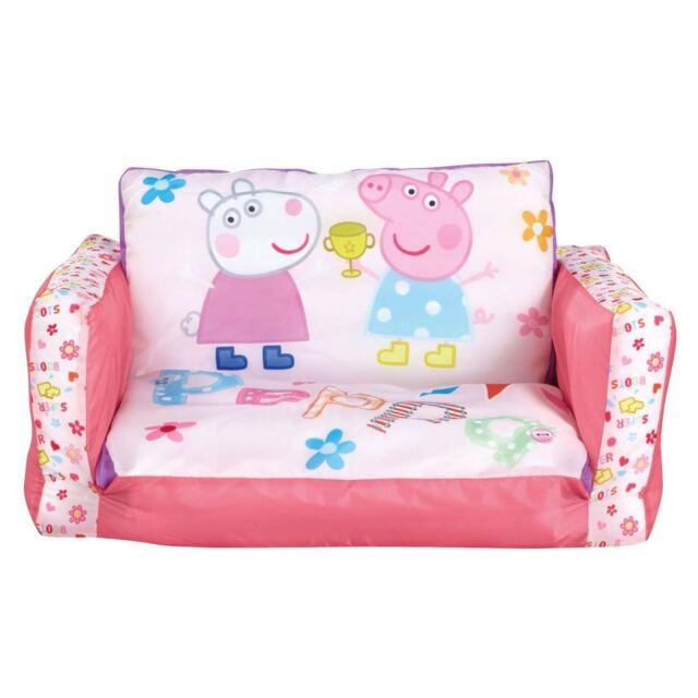 Peppa Pig Zum Ausklappen Mini Sofa Kinder neue 100 offiziell | eBay