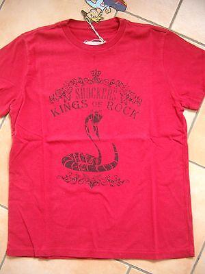 (h664) The Shockers Boys T-shirt Mit Schlangen & Logo Druck Auf Der Brust Gr.128 Reinigen Der MundhöHle.