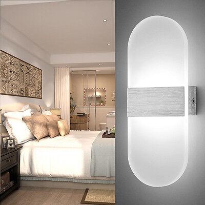 6W Kaltweiß LED Wandleuchte Wandlampe Effektlampe Flurlampe Fluter  Beleuchtung