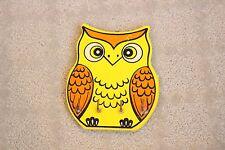 Vintage Owl Wooden Wall Hanging Key Holder Made in Japan OMC Otagiri