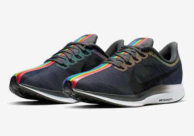 È vero Nike Zoom Pegasus 35 Love Pride Rainbow Turbo Gay Uomini Scarpe CK1948 001 | eBay