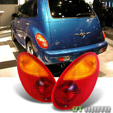 2001-2005 Chrysler PT Cruiser Tail Lights Rear Brake Lamps Pair 01-05 Left+Right