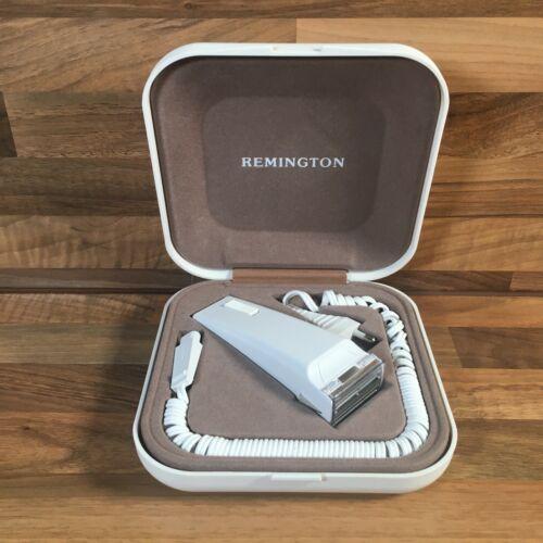 Collections Vintage Lady Remington 8M2L-1 Electric Razor Shaver removable Head & Carry Case  8kJkinGc5