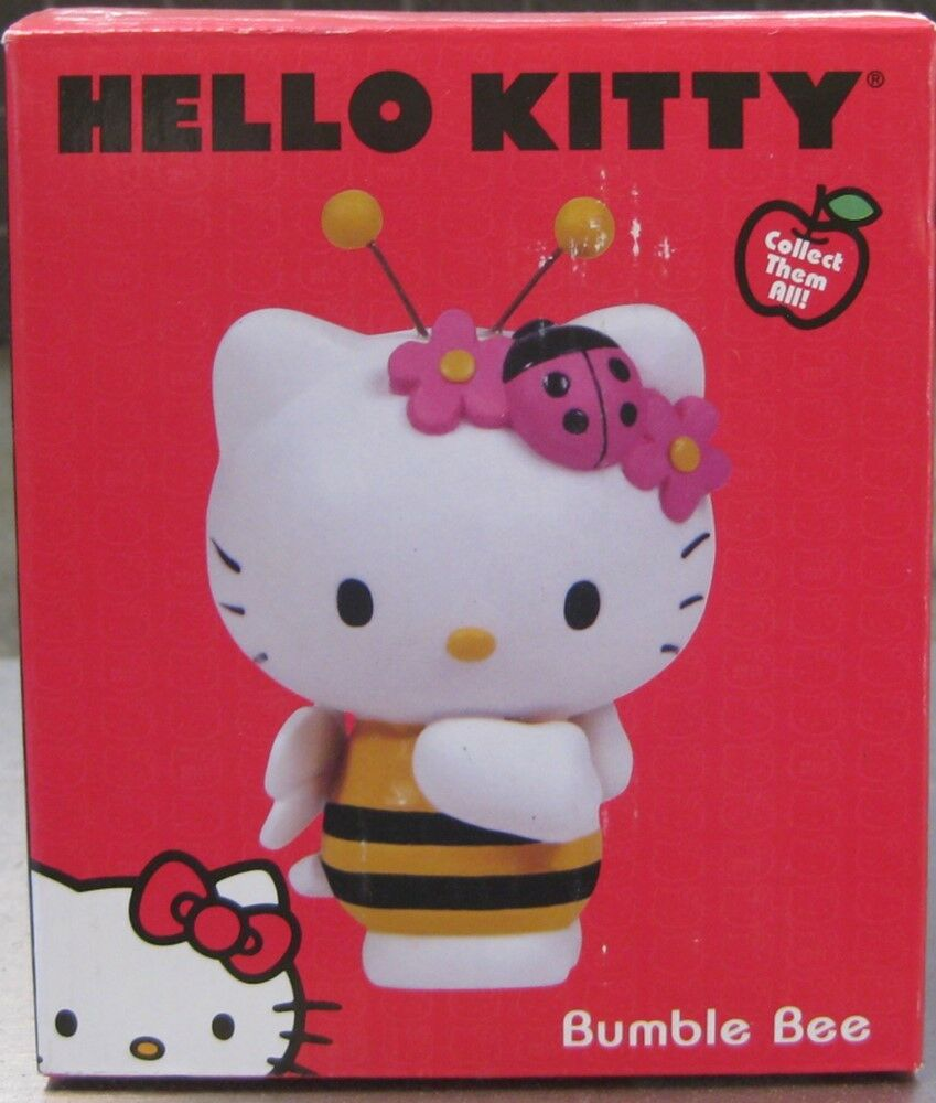 HELLO KITTY BUMBLE BEE FIGURINE BY PRECIOUS MOMENTS  BRAND NEW IN BOX