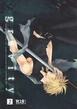 Final Fantasy 7 VII FF7 FFVII YAOI Doujinshi Dojinshi Sephiroth x Cloud gravity2