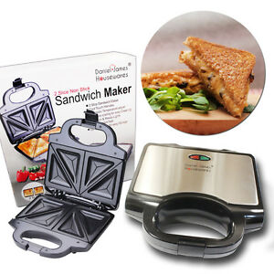 Toasted Sandwich Maker Toastie Toaster Grill Fill Press Non Stick