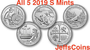 2019 P D S Lowell NP Quarter Set Proof//Uncirculated 3 Quarters