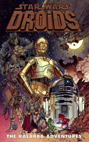 Star Wars Droids Movie Poster Iron On T-Shirt Transfer A5
