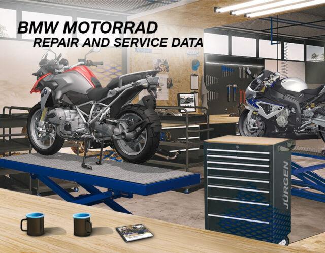 Workshop Service Repair Manual Bmw Sbk Hp4  Ed   2017
