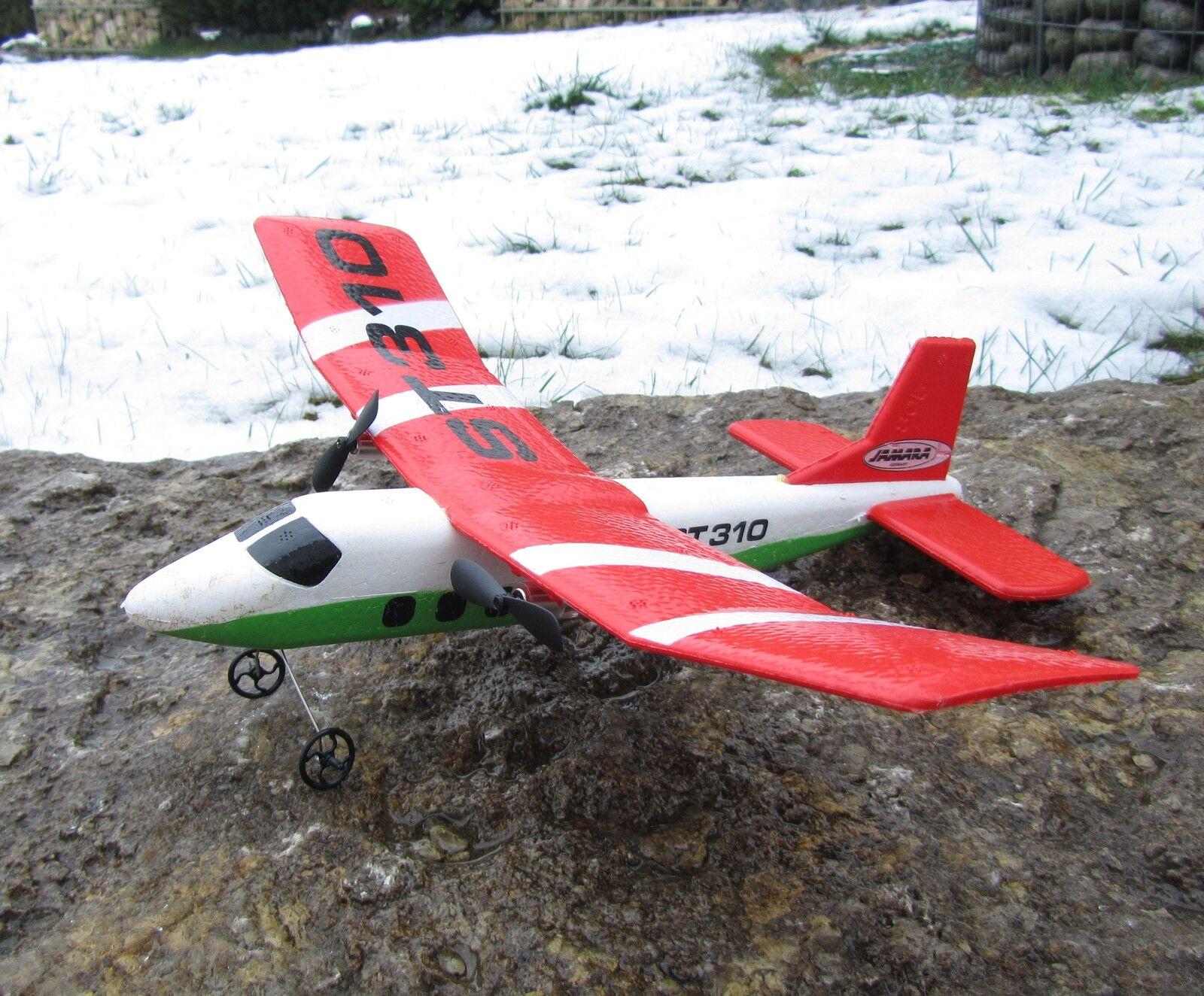 RC Flugzeug ST310 Ferngesteuert Lipo Akku 2CH 2.4 GHZ   012300