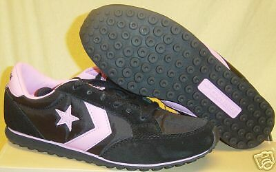 NEW Womens CONVERSE Tucson Trainer Ox 1Q470 Black Pink Sneakers Shoes Size 11.5