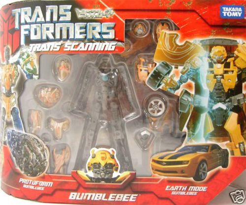Transformers  Trans Scanning Bumblebee azione cifra