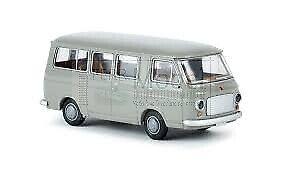 BREKINA-34401-Fiat-238-mini-bus-grigio-dal-1967-al-1983-scala-H0-1-87