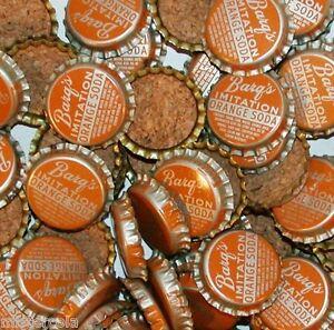 Soda pop bottle caps Lot of 25 GRAPE SODA #2 cork lined unused new old stock