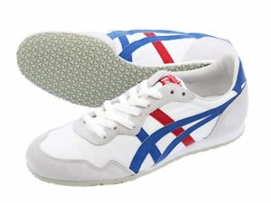 Onitsuka-Tiger-ASICS-Sneakers-SERRANO-TH109L-White-Blue-With-Tracking
