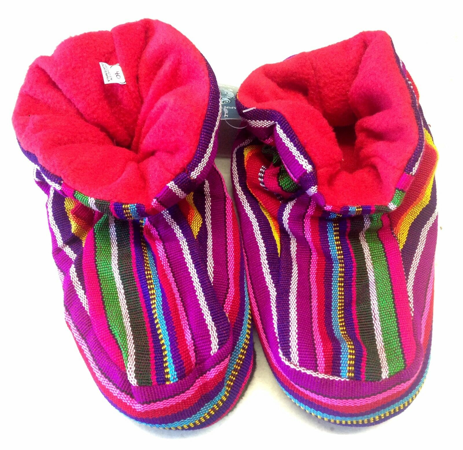 les rainbow hommes chers unisexe toison hiver harlequin hippy bright rainbow les pantoufles 5a76f4