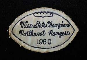 VINTAGE-1960-MISSISSIPPI-STATE-FOOTBALL-CHAMPS-NAVY-AND-WHITE-PATCH-4-1-2-034-X-3-034