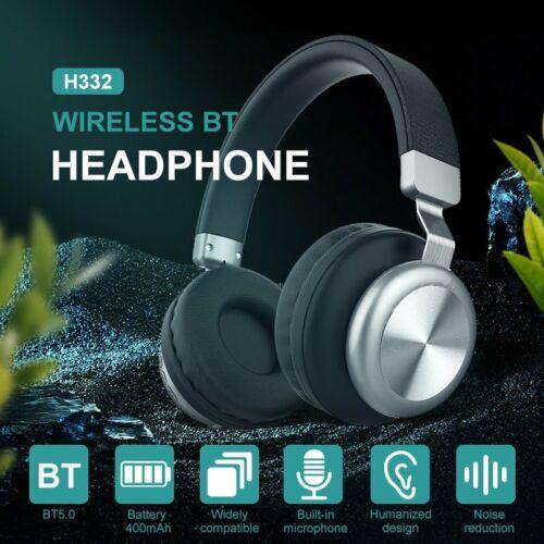 Wireless Kopfhörer Bluetooth 5.0 Headset Stereo Noise Cancelling On Ear Faltbar