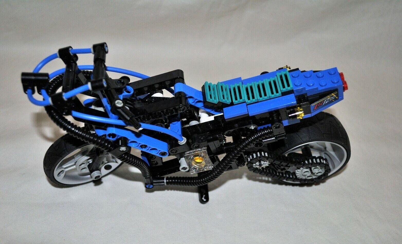 Lego Technik Motorrad 8417 mit original Bauanleitung