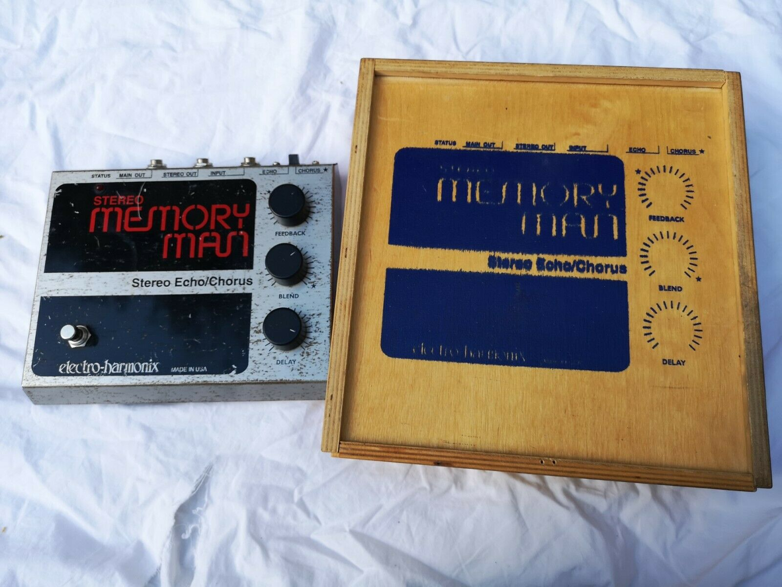 ELECTRO HARMONIX STEREO MEMORY MAN - FREE NEXT DAY DELIVERY IN THE UK