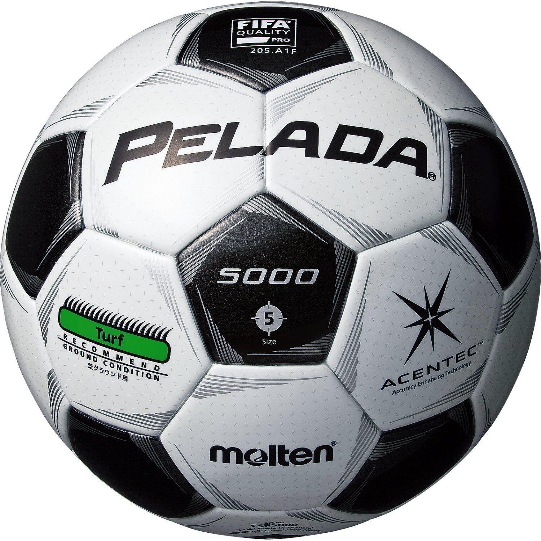 Molten Japan Football Soccer Ball PELADA ACENTEC 5000 Turf FIFA Approved Größe:5