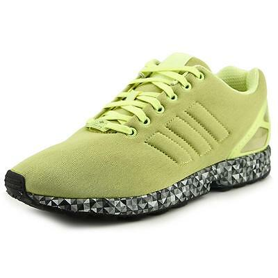 Adidas Zx Flux Men  Round Toe Synthetic Green Sneakers