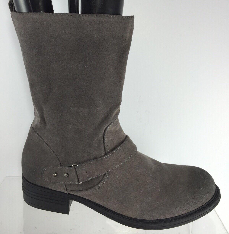 Sole Society Damenschuhe Gray Stiefel 9.5 B