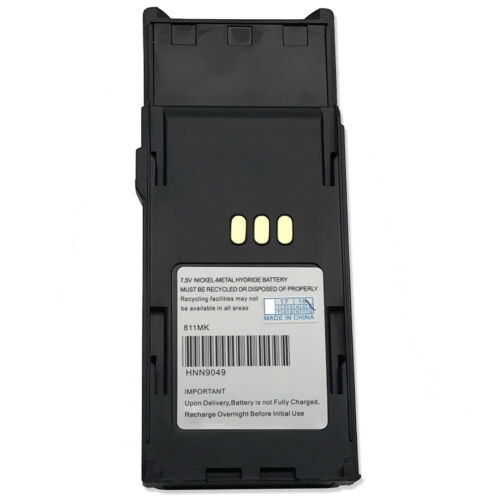 2 x 1.8AH HNN9049A HNN9050A HNN9051A Battery For MOTOROLA Radius P1225 LS Radio