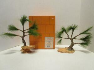 PRE-OWNED-Enesco-Friends-of-the-Feather-Set-of-2-Tree-Risers-285226