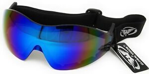 Shatterproof-UV400-Race-Jockey-Goggles-4-national-hunt-point-to-point-amp-work-NEW