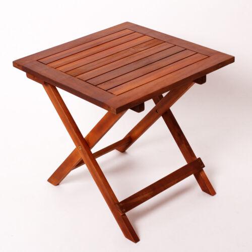 Table pliante Dionysos jardin table d/'appoint table en bois café table table de balcon