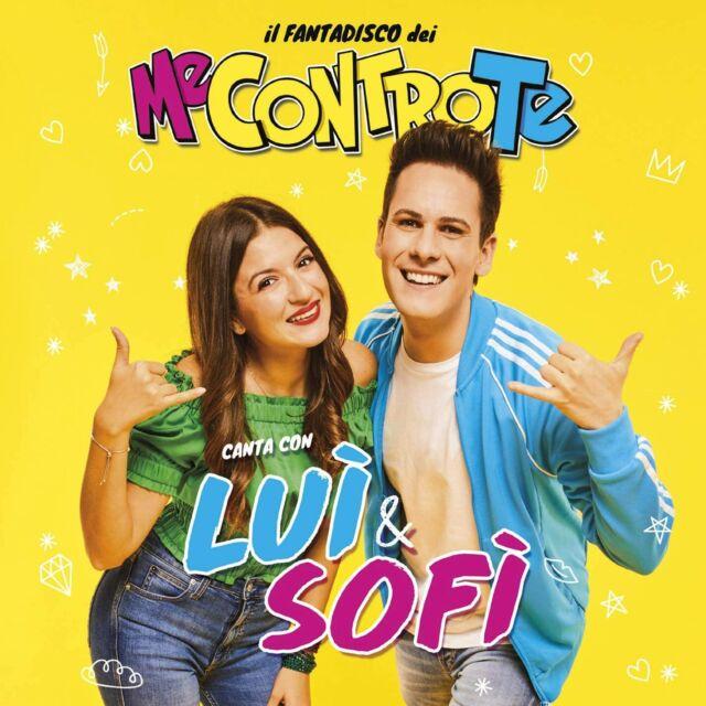 Fantadisco Dei Me Contro Te Canta e Gioca Con Luì & Sofì CD Musicale 8 Canzoni