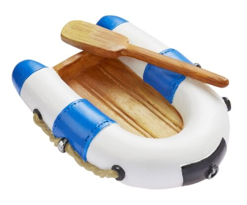 Dekofigur tortendeko * bote neumático-azul//blanco 7 cm 3870311