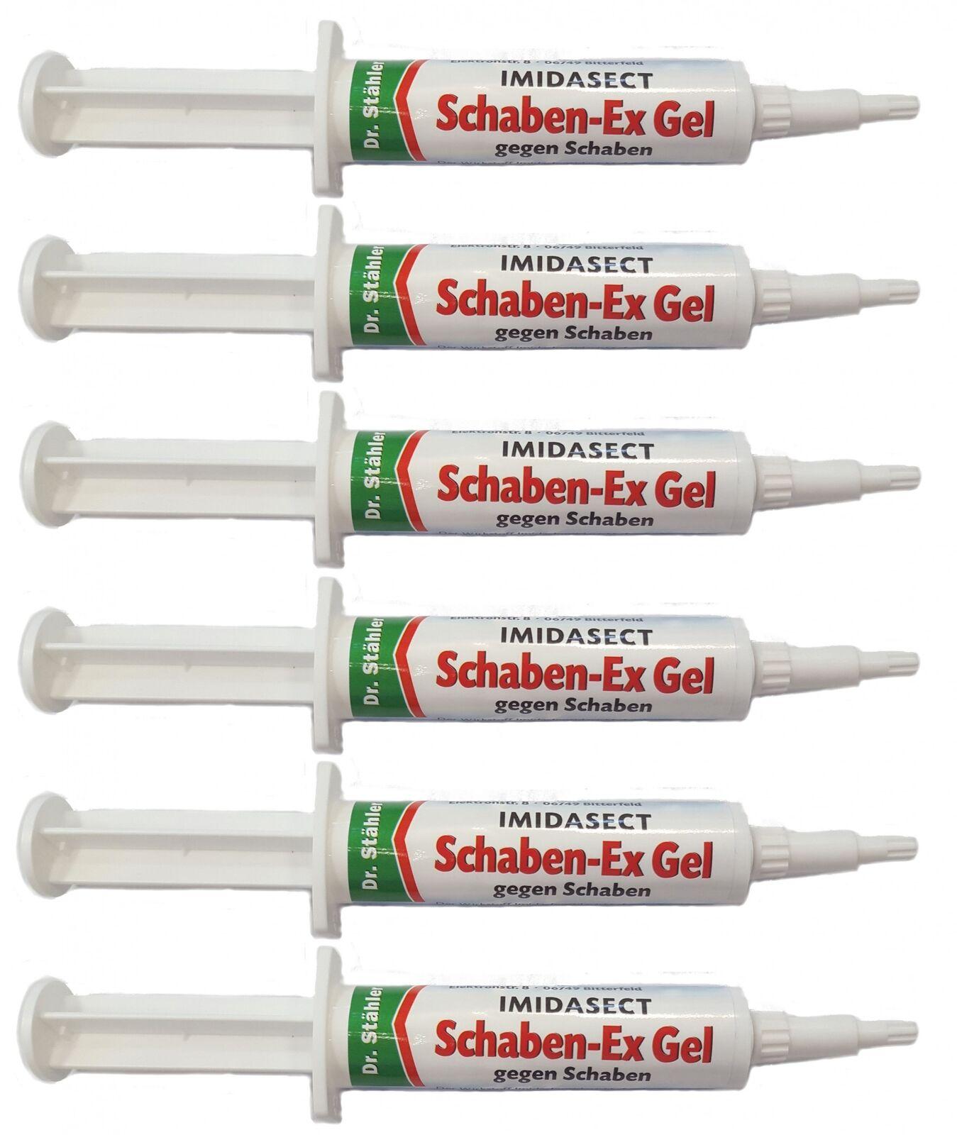 Sparset  6 x DR. STÄHLER Schaben-Ex Gel Imidasect, 10 g