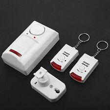 Alarme Infrarouge Sans Fil Avec Detecteur de Mouvement + 2 Télécommandes