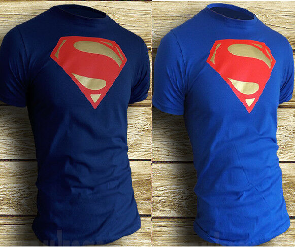 SUPERMAN MAN OF STEEL T-SHIRT *NEW* Size S,M,L,XL***children sizes available****