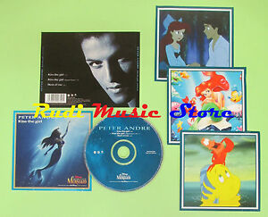 CD-singolo-PETER-ANDRE-KISS-THE-GIRL-1998-MUSH34CDSX-DISNEY-S17-no-mc-lp-vhs