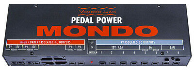 Voodoo Lab Pedal Power MONDO Power Supply NEW FROM DEALER! FREE SHIPPING IN U.S.