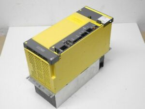 Motorenantriebe & Steuerungen Business & Industrie Fanuc Aisv 180hv A06b-6124-h106 Version H 480v 32kw 58a Top Zustand Durchsichtig In Sicht