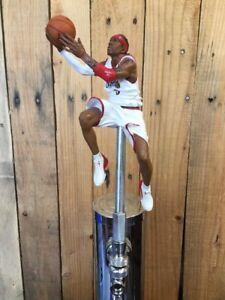 Philadelphia-76ers-TAP-HANDLE-Allen-Iverson-Beer-Keg-NBA-White-Sixers-Jersey-3