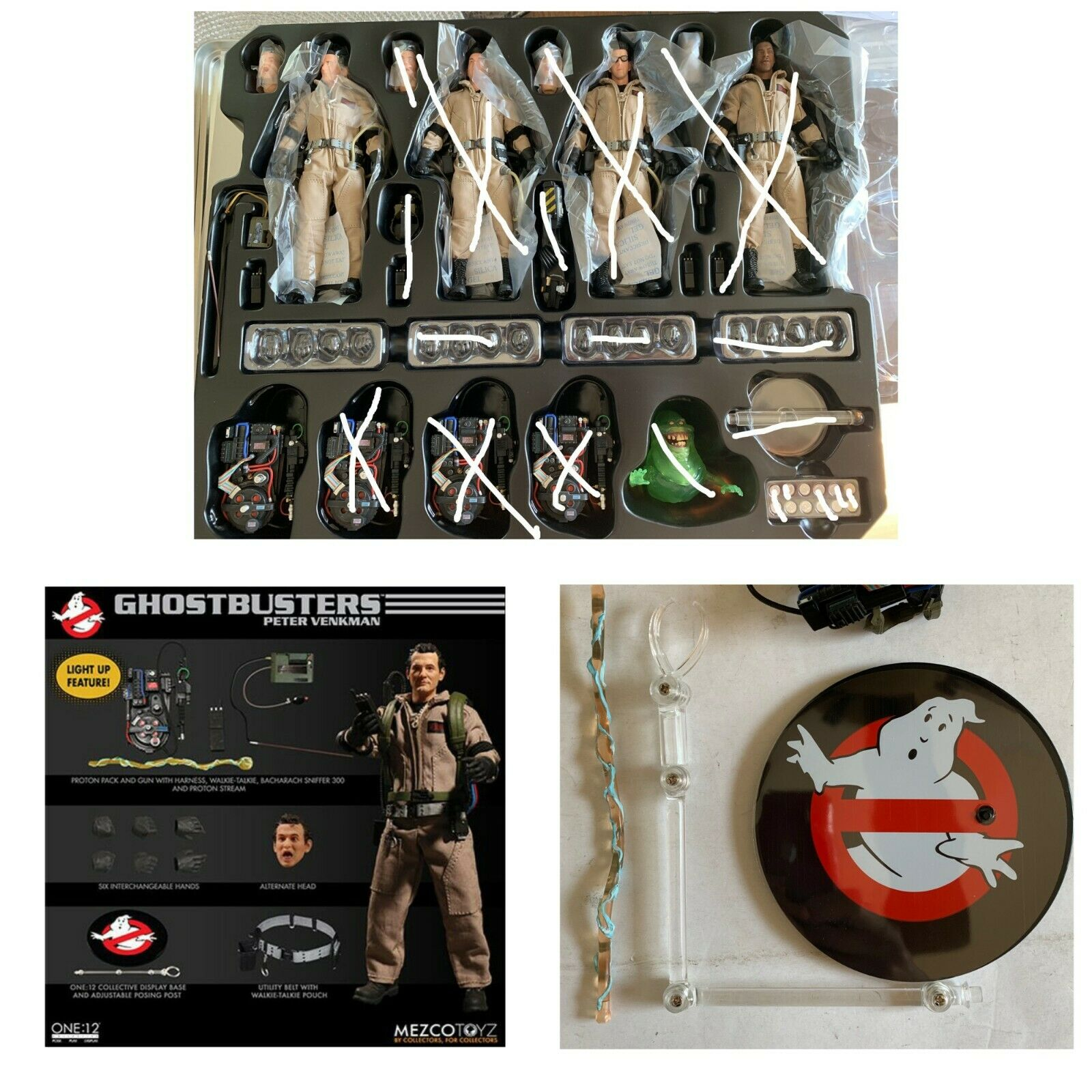 Peter (hors Emballage) One 12 1 12 Ghostbusters Mezco Toyz 2019 Action Figure