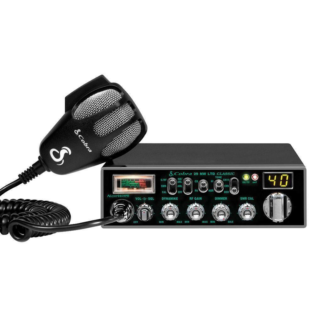 cobraelectronics Cobra Electronics 29 NW Night Watch Backlit Professional CB Radio 1 yr. Warranty
