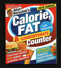 2016 Calorie Fat Carbohydrate Counter diet weight loss how to lose losing NEW