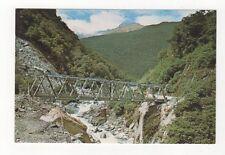 Gates Of Haast Bridge West Coast New Zealand Postcard 364a