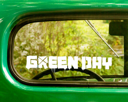 2 GREEN DAY DECAL Stickers For Car Window Bumper Truck Laptop Jeep Rv